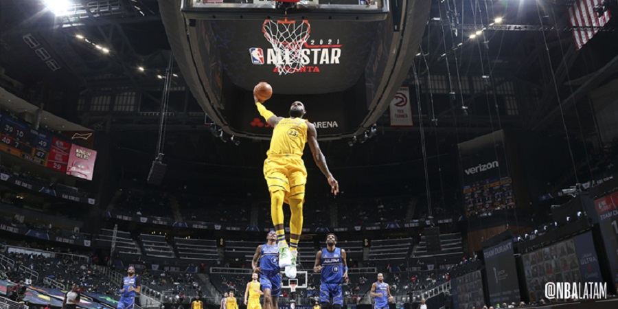 Team LeBron takes the All-Star Game
